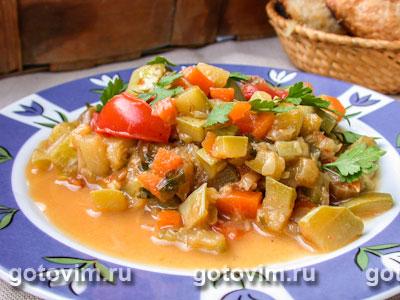 Рагу из баранины с овощами
