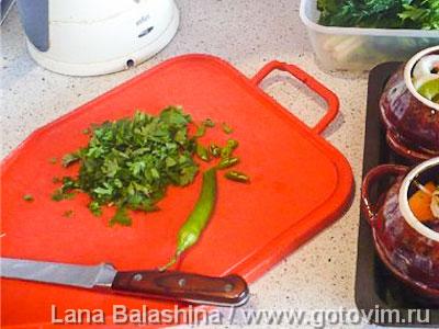 Баранина на ребрышках с овощами