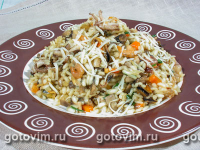 ризотто с морепродуктами рецепт с фото пошагово