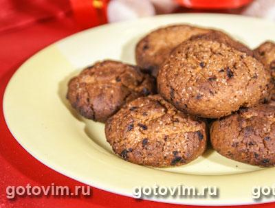 Рождественское печенье с изюмом
