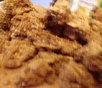 Салат с овсяным печеньем