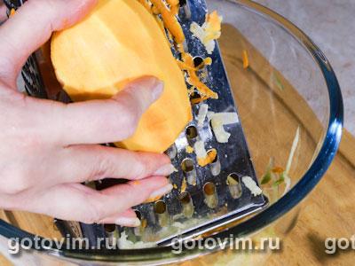 Салат из редьки с тыквой
