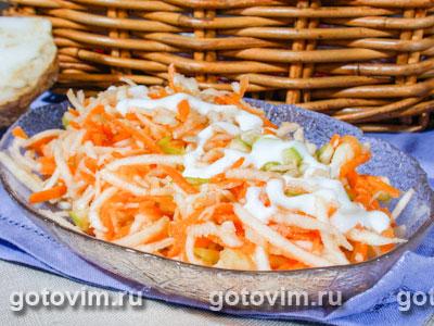 Овощной салат с сельдереем