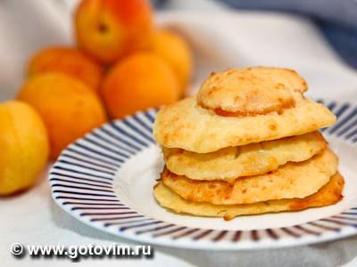 Сырники с абрикосами (запеченные в духовке). Фото-рецепт