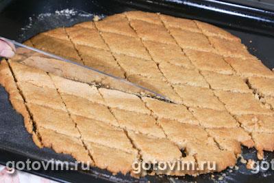 Печенье спекюлос с коричневым сахаром brown&white