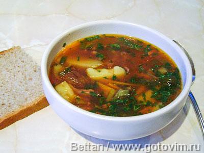 Суп из говяжьего хвоста