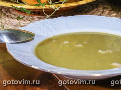 Гороховый суп пюре с мясом