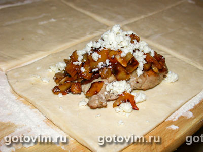 Свинско в тесте (мясо в тесте)