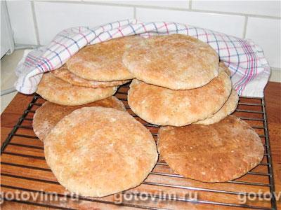 Шведские лепешки с овсяными хлопьями (tekakor)