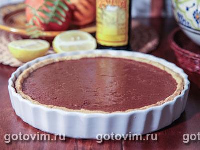 Тарт с шоколадным муссом
