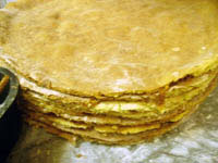 Простой медовый тортик