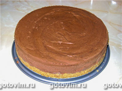 Трюфельный торт . Фото-рецепт