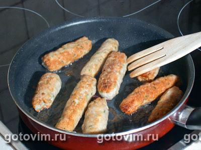 Жареные колбаски по валлийски