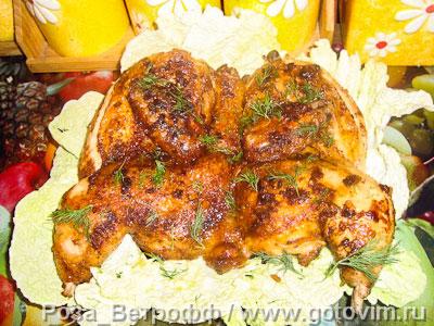 Цыпленок тапака . Фото-рецепт